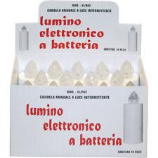 Briancasa 14 Ricambi Fiamma Eterna per Lumino Elettronico - Bianchi
