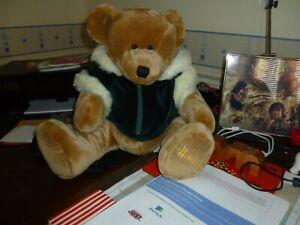HARRODS RARE CHRISTMAS BEAR BACKPACK - 2001 SCOTT