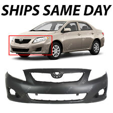 NEW Primered - Front Bumper Fascia for 2009 2010 Toyota Corolla Sedan TO1000343