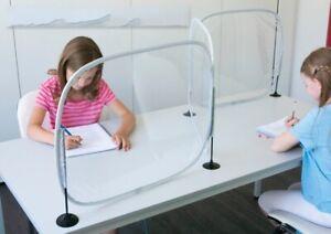 Desk Partitions Social Distance Screens Student or Teacher