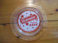 vintage Old Columbia preferred Beer Brewing Co. Ashtray Shenandoah, Pa Brewery