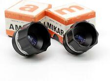 Vintage Lens for enlarger AMAR 4.5/105. and Mikar 4.5/55 M42. PZO m42 Mount