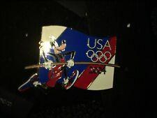 Disney Pin 32173 USA Olympic Starter Lanyard Pin - Goofy