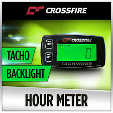 Hour Meter Tachometer (Backlight Replaceable Battery) 2 Stroke 1-3 Cylinder