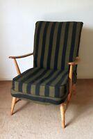 Vintage Retro Danish Era Mid Century ERCOL Armchair 1960s Easy Chair