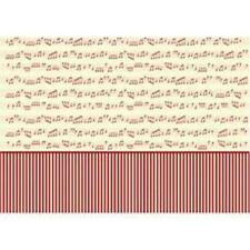 10 Sheets of Decoupage Paper Copenhagan Music Notes 17gsm (25551)