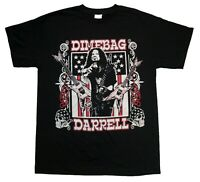 DIMEBAG DARRELL Guitar Flag T SHIRT S-2XL Brand New Official Bravado Merchandise