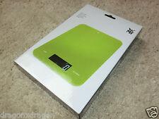 WMF Digitale Waage Küchenwaage inkl. Batterien Grün Glas Kunststoff NEU Garantie