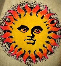 Vintage 1971 Original Roach Hippy Sun Mini Iron-On Transfer by Ed Newton RARE!