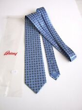 BRIONI Roma LUXURY DIS 1S938 NUOVA NEW SETA SILK HAND MADE IN ITALY IDEA REGALO