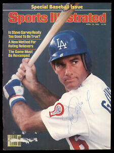 Steve Garvey Autographed Signed Sports Illustrated Magazine Cover Dodgers 185419