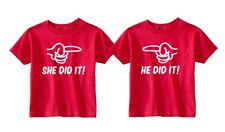 Cute Twins Toddler T-shirts - Set of 2 - Your choice of colors