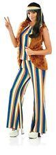 Womens 1960s Singer Costume S -  XL Ladies 60s Hippie Rockstar Fancy Dress Hippy