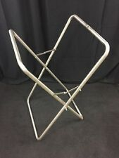 MILITARY ENG. CO. Metal Folding Cloth Basket Frame See Listing