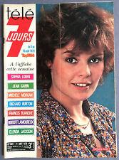 ►TELE 7 JOURS 1001/1979 - NATHALIE JUVET - HEYERDAHL - KON TIKI - BALAVOINE
