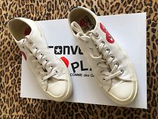Genuine Converse All Start Play Comme des Garcons Low Top Trainers - UK 5/38