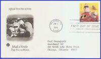 USA3 #4678 ADDR PCS ARTCRAFT FDC   Mail a Smile The Incredibles