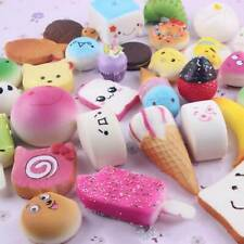 5pcs Fake Bread Bakery Squishies Squishy Keyring Squeeze toy Strap gift  UK