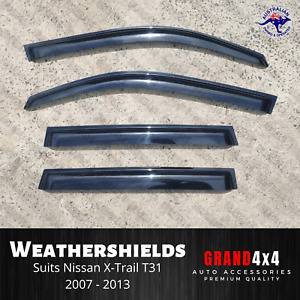 Weathershields Window Visors to suit Nissan X-Trail XTrail T31 2007-2013