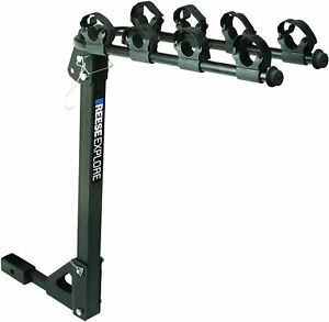Reese Explore 1393100G Tilt-Away 4-Bike Carrier with Hitch Mount