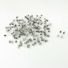 H● 100 Pcs 250 Volts 8Amp Fast Blow Type Glass Tube Fuses 6x30mm.