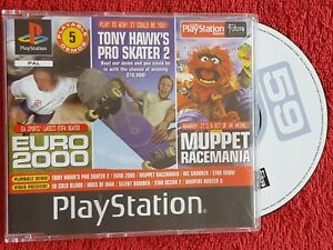 PLAYSTATION MAGAZINE DISC 59 VOLUME 1 DEMO MUPPET RACEMANIA  PS1 PS2 PAL