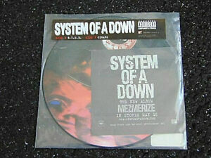 7' SYSTEM OF A DOWN - B.Y.O.B - LIMITED - PICTURE VINYL