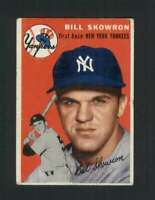 1954 Topps #239 Bill Skowron VG/VGEX RC Rookie Yankees UER 125993