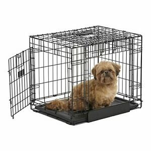 MidWest Homes for Pets Ovation Double Door Dog Crate 24-Inch