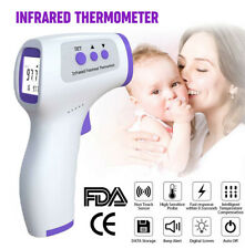 Digital Thermometer No Touch Forehead Infrared Baby Adult Body Temperature Gun