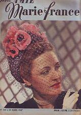 votre amie marie france - 123 25 mars 1947 /