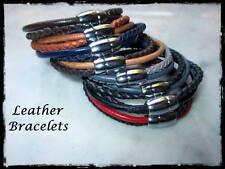 Bracciali in pelle unisex. Leather Bracelet. Entrate!