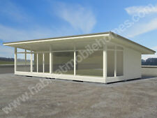 MOBILE HOME BESPOKE PLANS - LUXURY NO PLANNING GRANNY ANNEXE DRAWINGS