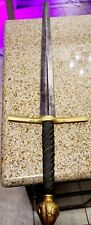 Vintage Full Size Antique Medieval Crusader Knight's Sword Great Condition