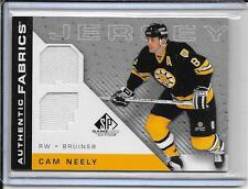 07-08 SP Game Used Cam Neely Authentic Fabrics Dual Jersey