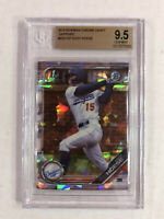 KODY HOESE 2019 Bowman Chrome SAPPHIRE SP RC! BGS GEM MINT 9.5! #BDC-187! INVEST