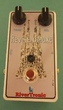 Pedal para guitarra eléctrica Reverb Deluxe ideal para loop efectos amplificador