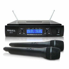 UHF20 SET 2x UHF - Funkmikrofon Wireless Karaoke Kabelloses Drahtloses Mikrofon