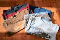 Bundle of Boys tops+ Batman PJ's - Gap/ M&S - Age 6-7 -jumper,dinosaur top,