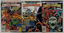 **MARVEL SUPER HERO CONTEST OF CHAMPIONS #1,2,3**1982**#2,3 SIGNED BY ROMITA JR*