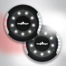 4x Kinderwagenlicht, per USB aufladbar TOP 2 LED Kinderwagen Beleuchtungs Sets