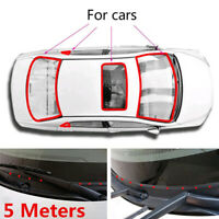 18*5mm Rubber Seal Weather Strip Trim For Car Front Rear Windshield Accessories