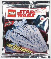 ORIGINAL LEGO STAR WARS LIMITED EDITION STAR DESTROYER 911842 Foil Pack - NEW!!!