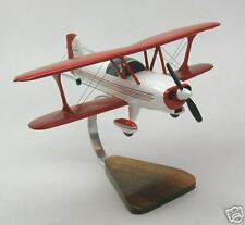 Stolp Starduster Private Airplane Wood Model Big