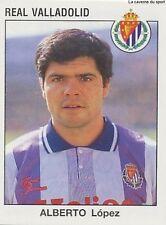N°343 ALBERTO LOPEZ REAL VALLADOLID CROMO STICKER PANINI LIGA 1994