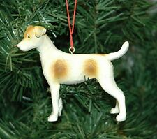 Jack Russell Dog Christmas Ornament