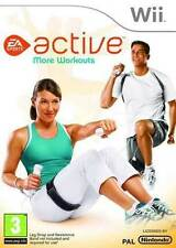 EA Sports Active: More Workouts (Wii), Very Good Nintendo Wii,Nintendo Wii Video