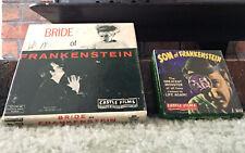BRIDE OF FRANKENSTEIN & Son Of Frankenstein Castle Films UNIVERSAL 8mm