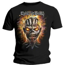 Iron Maiden Eddie Exploding Head Officially Licensed Rock Off Tee Adult XL (New)