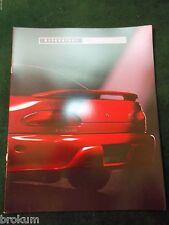 "1993 MITSUBISHI MIRAGE 14 PAGE SALES COLOR BROCHURE MINT 9"" X 12"" (BOX 336)"